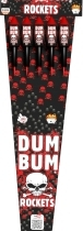 Dum Bum Rocket with scream  5buc